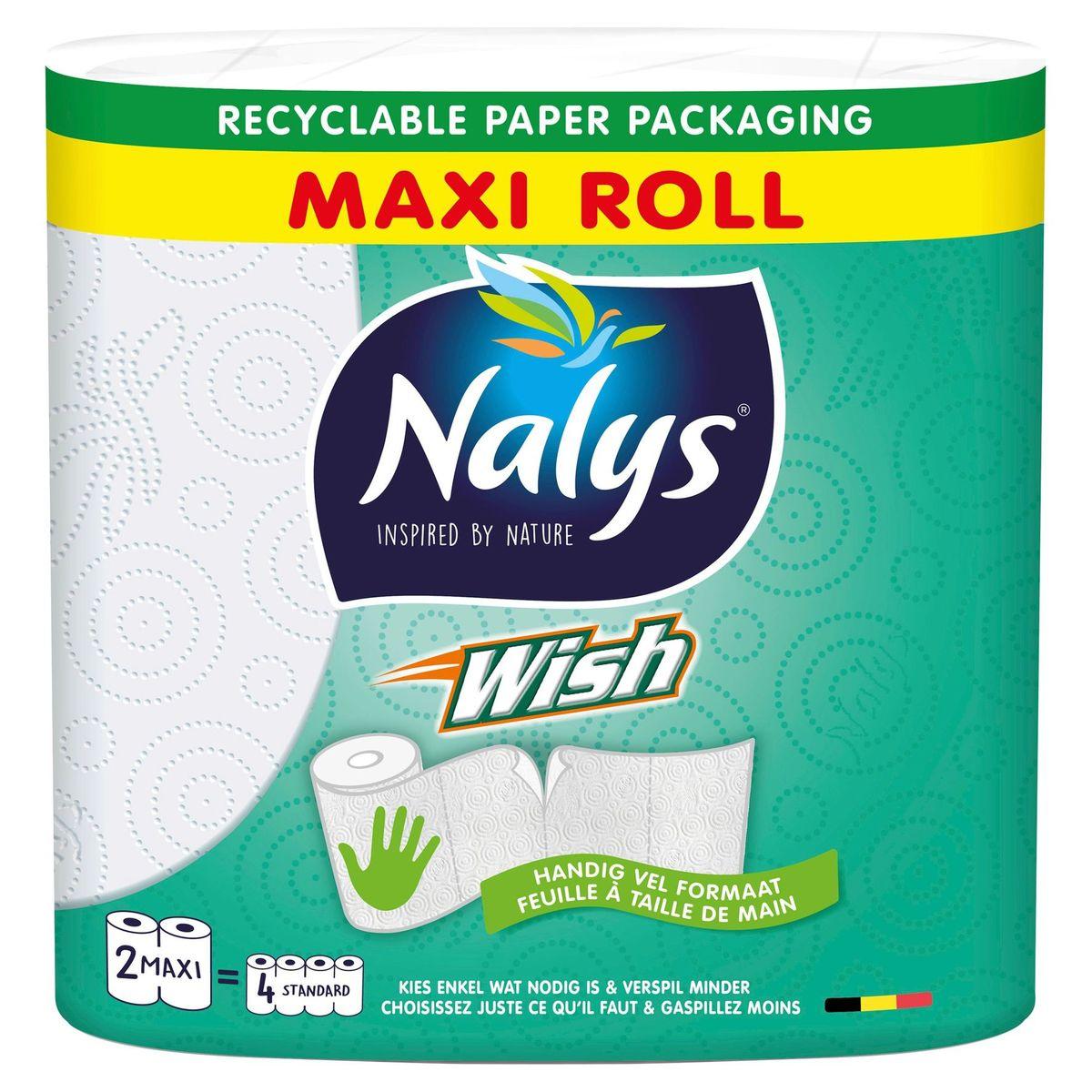 Nalys Wish Keukenrol 2 Maxi Rollen