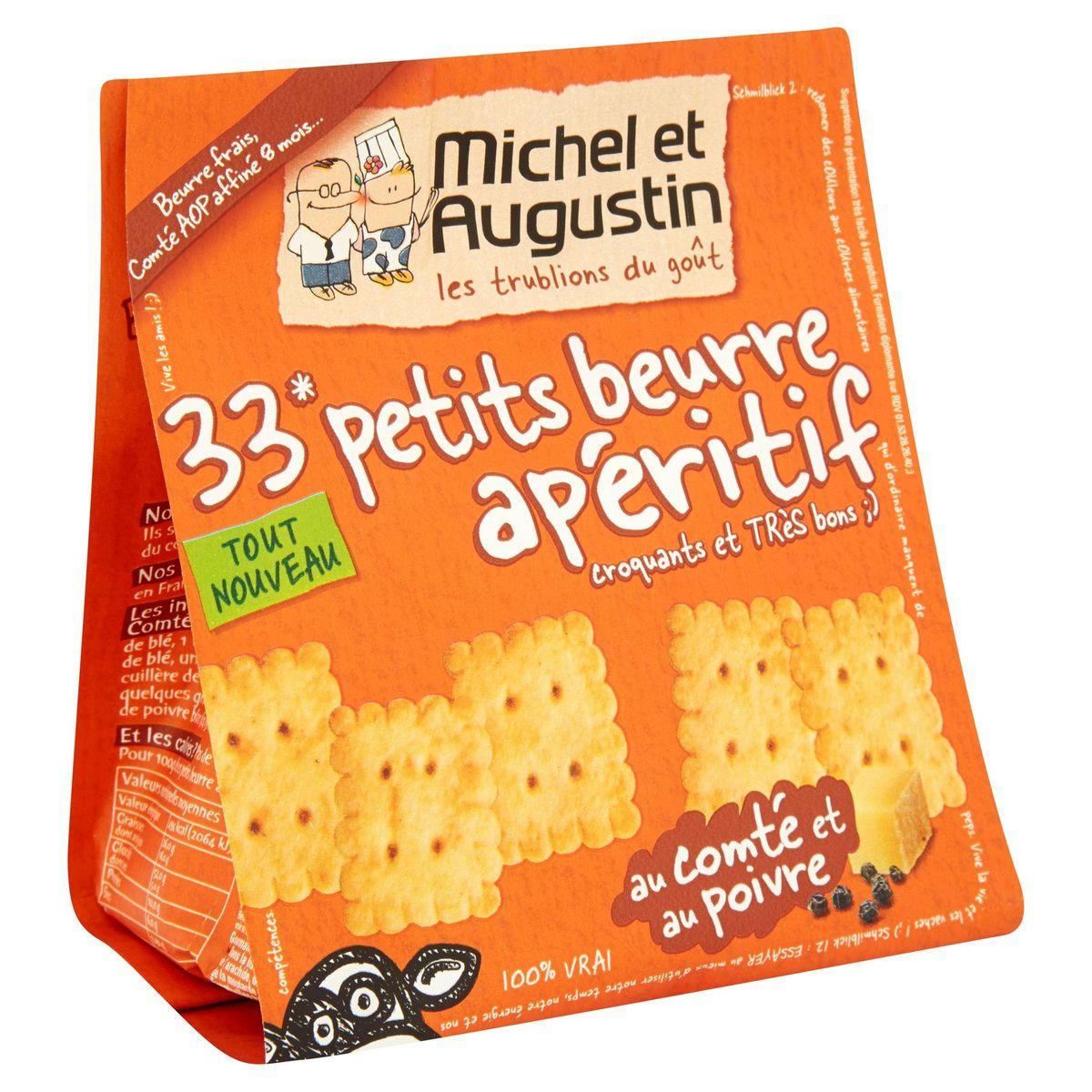Michel et Augustin 33 Petits beurre apéritif au comté  100 g