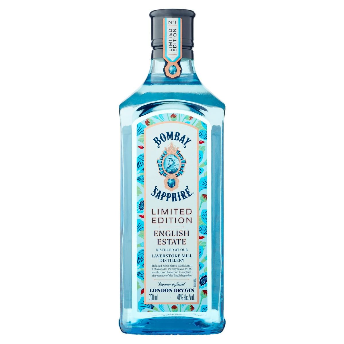 Bombay Sapphire English Estate London Dry Gin Limited Edition 700 ml