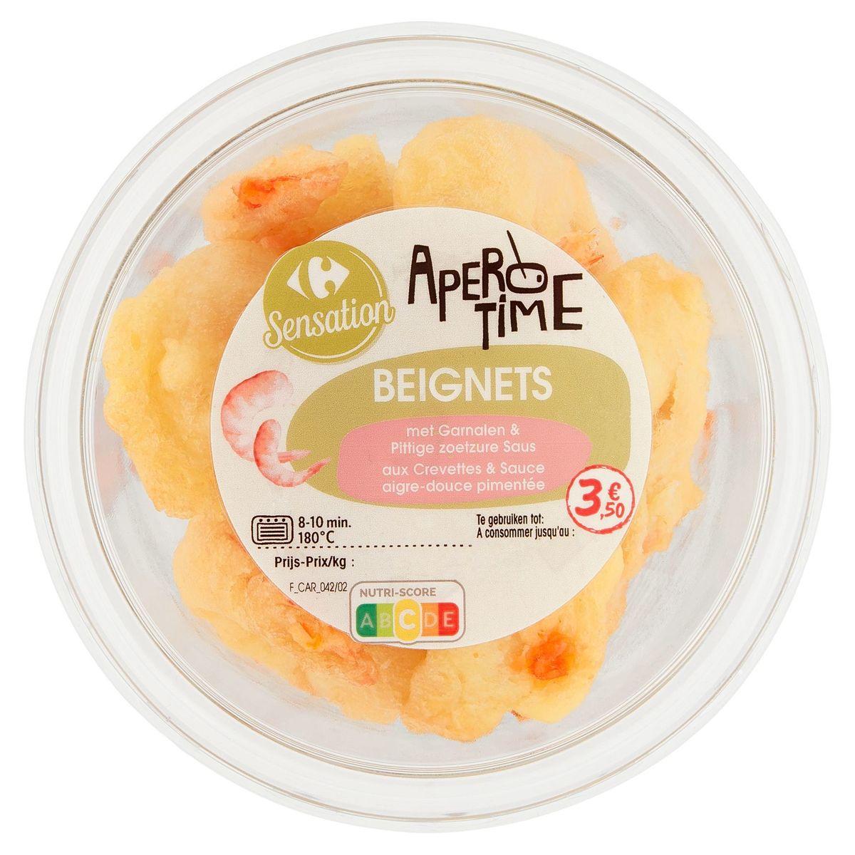 Carrefour Apero Time Beignets Crevettes & Sauce Aigre-Douce 110 g