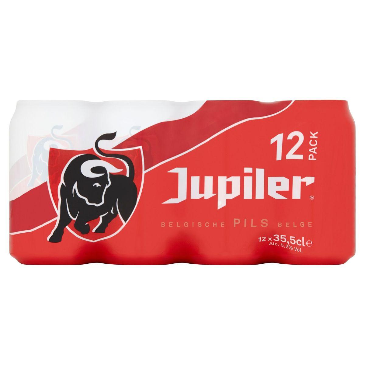 Jupiler Belgische Pils Blikken 12 x 35.5 cl
