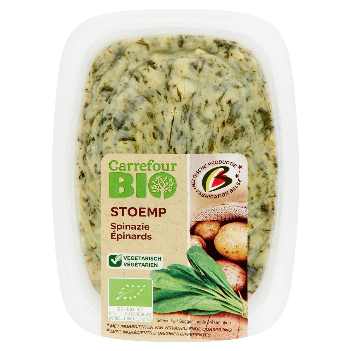 Carrefour Bio Stoemp Spinazie 500 g