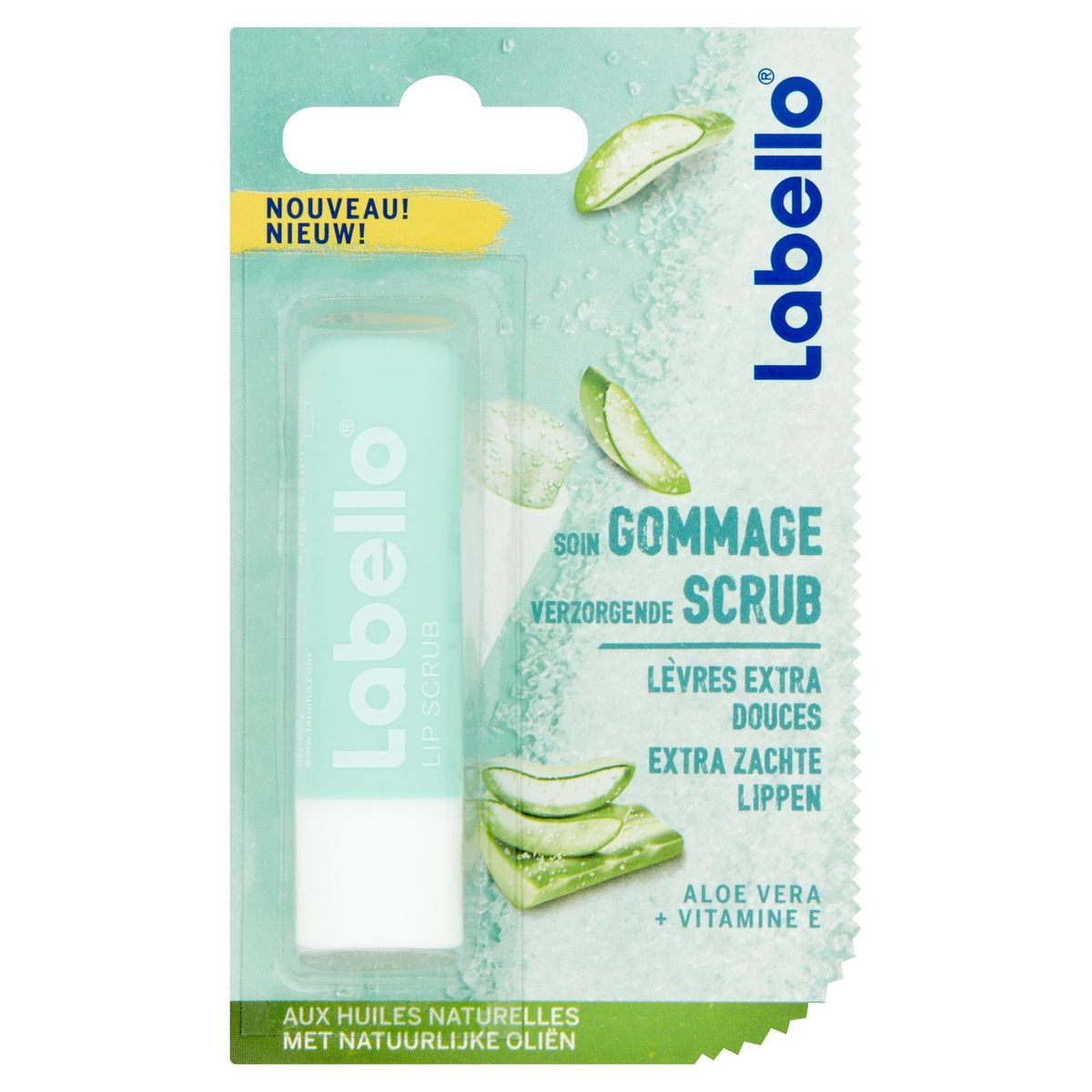 Labello Soin Gommage Lèvres Extra Douces 5.5 ml
