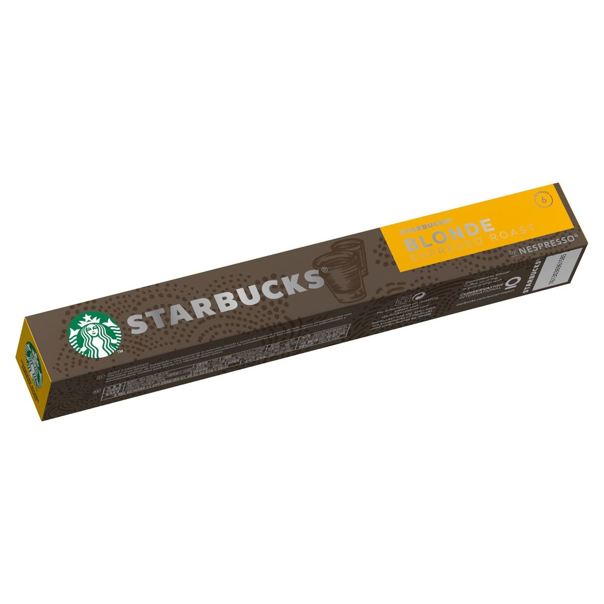 STARBUCKS by NESPRESSO Blonde Espresso Roast 10 capsules, 53g