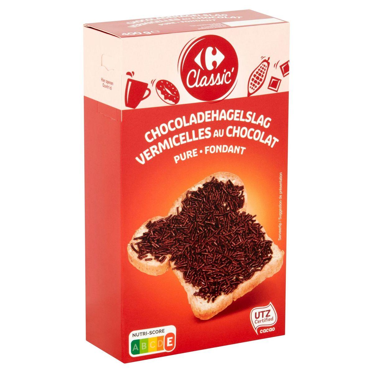 Carrefour Classic' Vermicelles au Chocolat Fondant 400 g