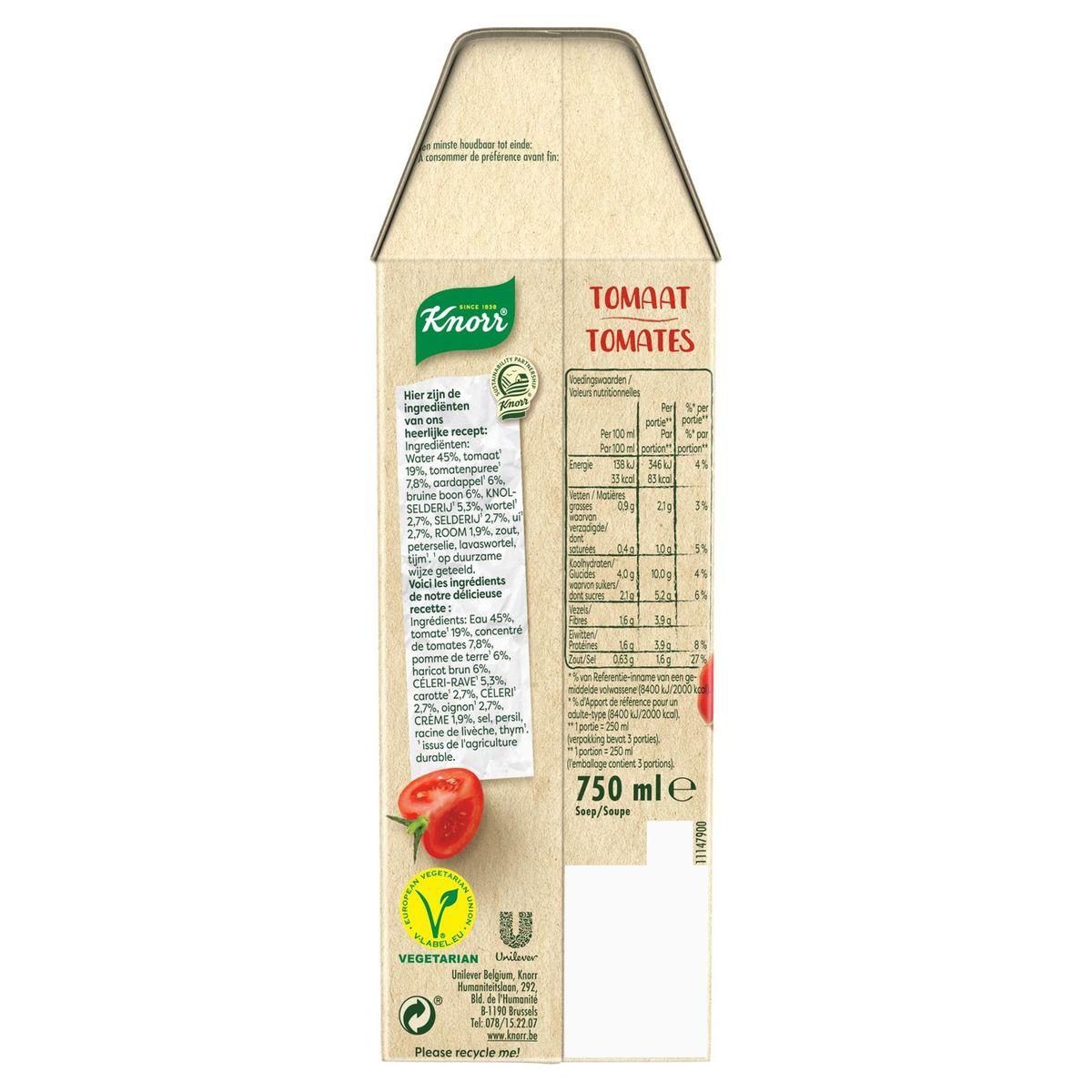 Knorr Soupe en Brique Tomates 750 ml