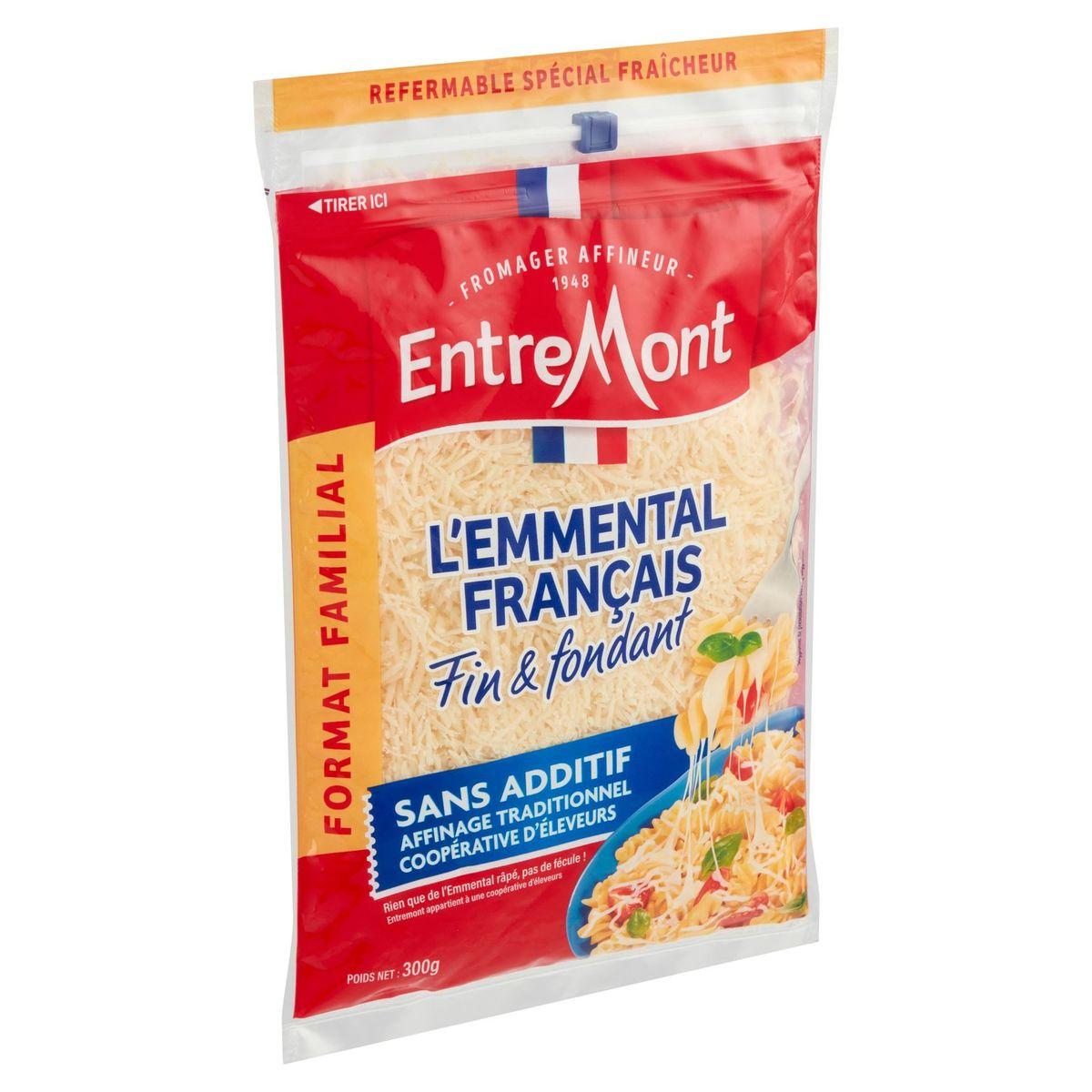 Entremont l'Emmental Français Extra Fin Format Familial 300 g