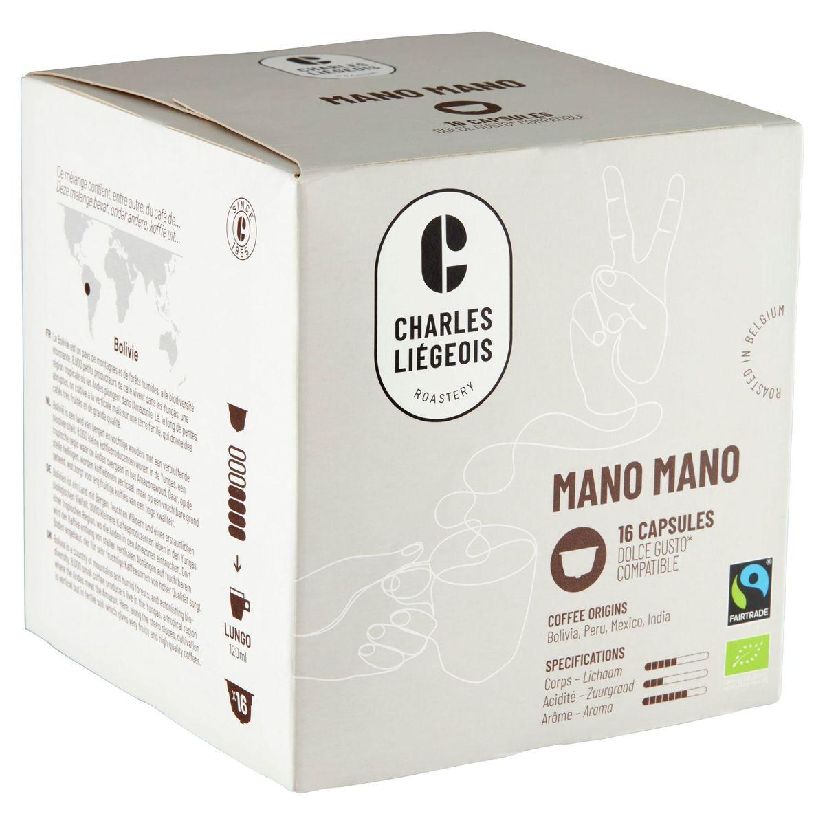 Charles Liégeois Mano Mano 16 Capsules 112 g