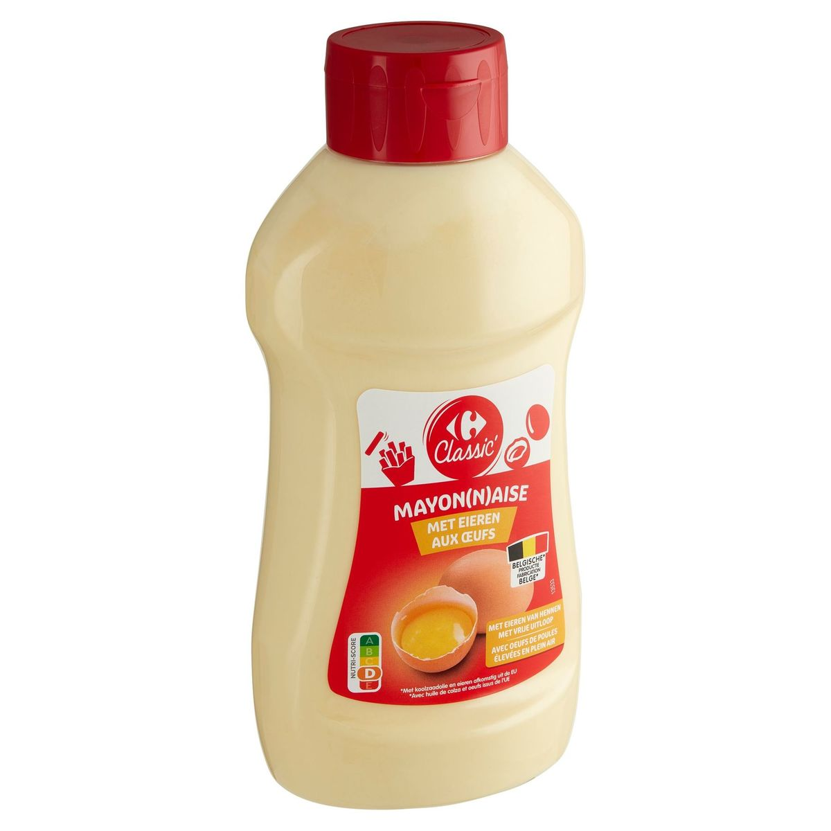 Carrefour Classic' Mayonaise met Eieren 815 g