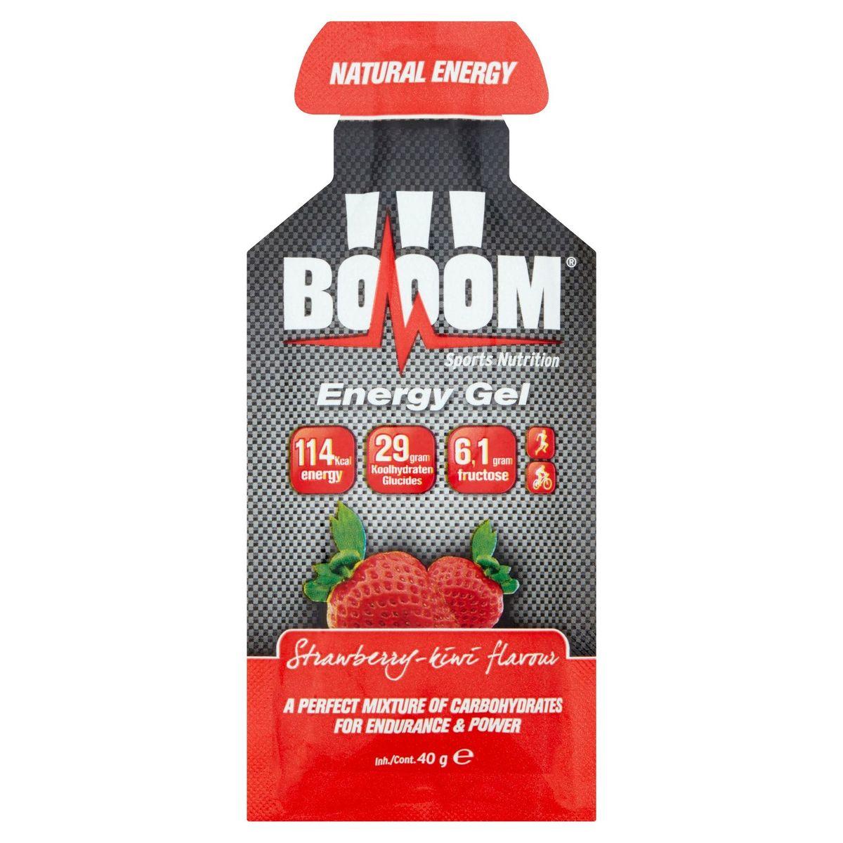 Booom Energy Gel Strawberry - Kiwi Flavour 40 g