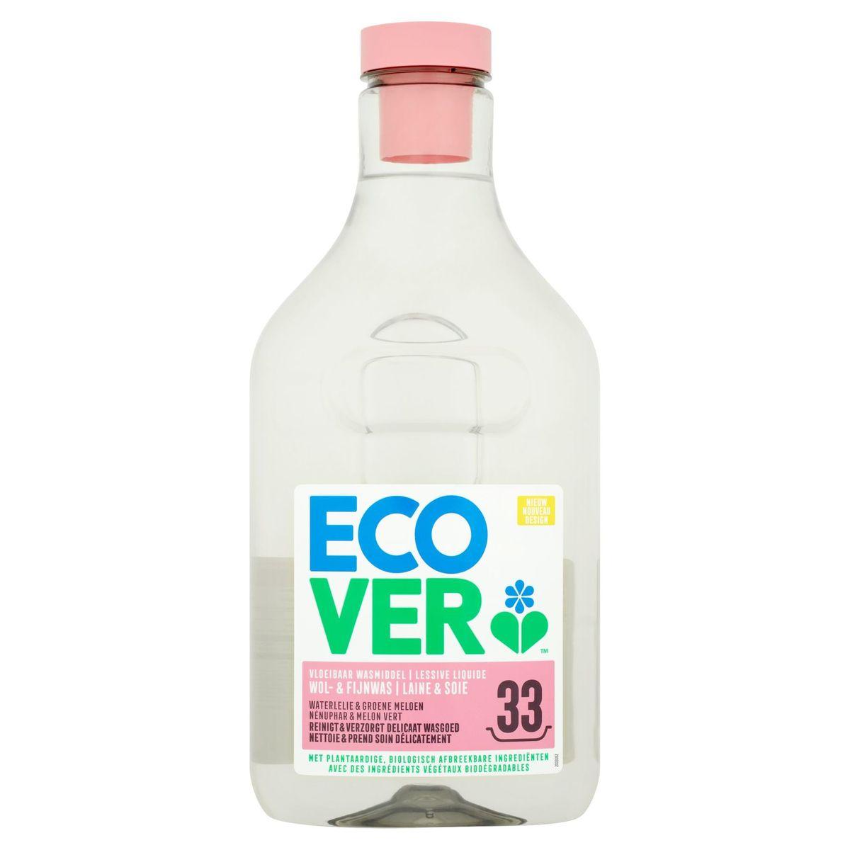 Ecover Lessive Liquide Laine & Soie 33 Lavages 1.5 L