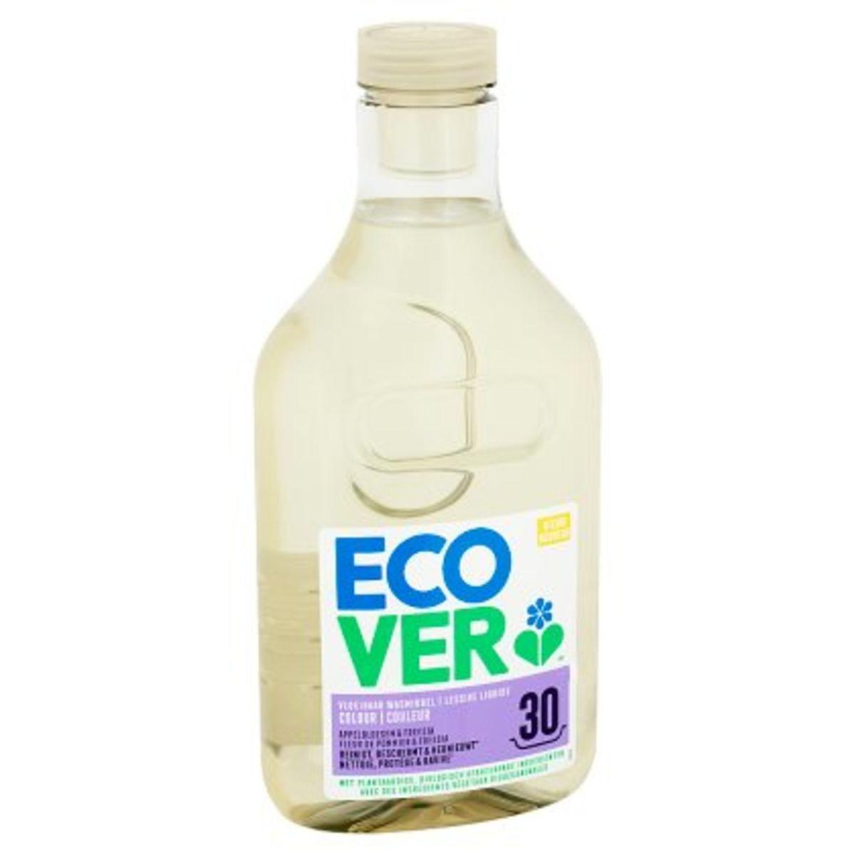 Ecover Lessive Liquide Couleur 30 Lavages 1.5 L
