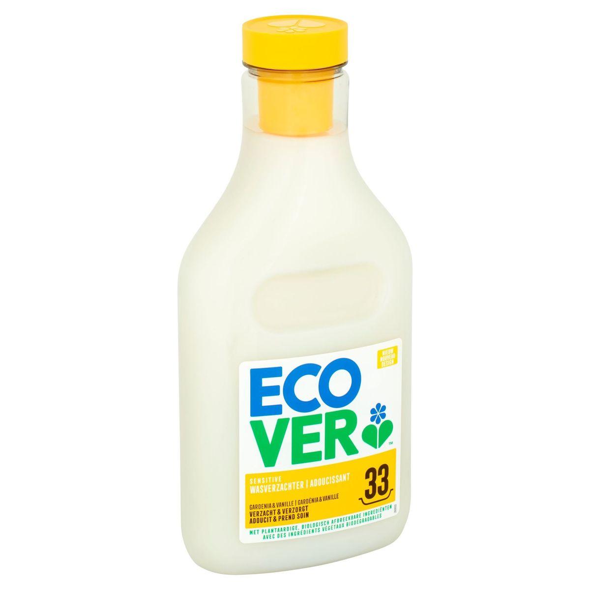 Ecover Sensitive Wasverzachter Gardenia & Vanille 33 Wasbeurten 1 L