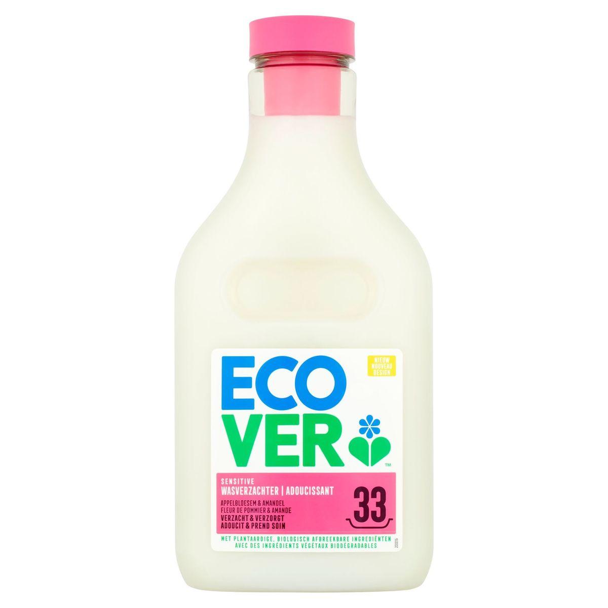 Ecover Sensitive Wasverzachter Appelbloesem Amandel 33 Wasbeurten 1 L