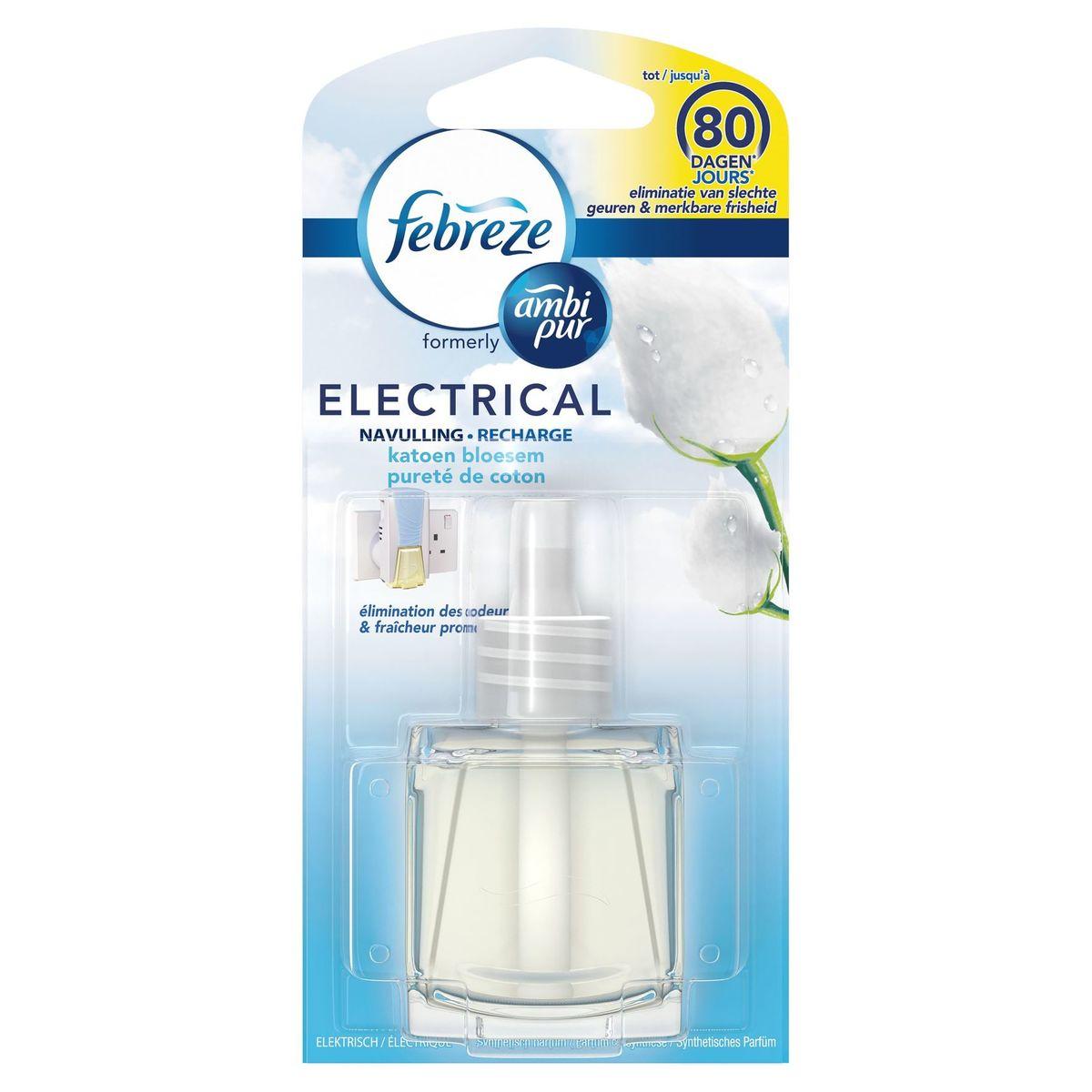 Febreze 3Vol Luchtverfrisser Navulling Katoen Bloesem 20 ml