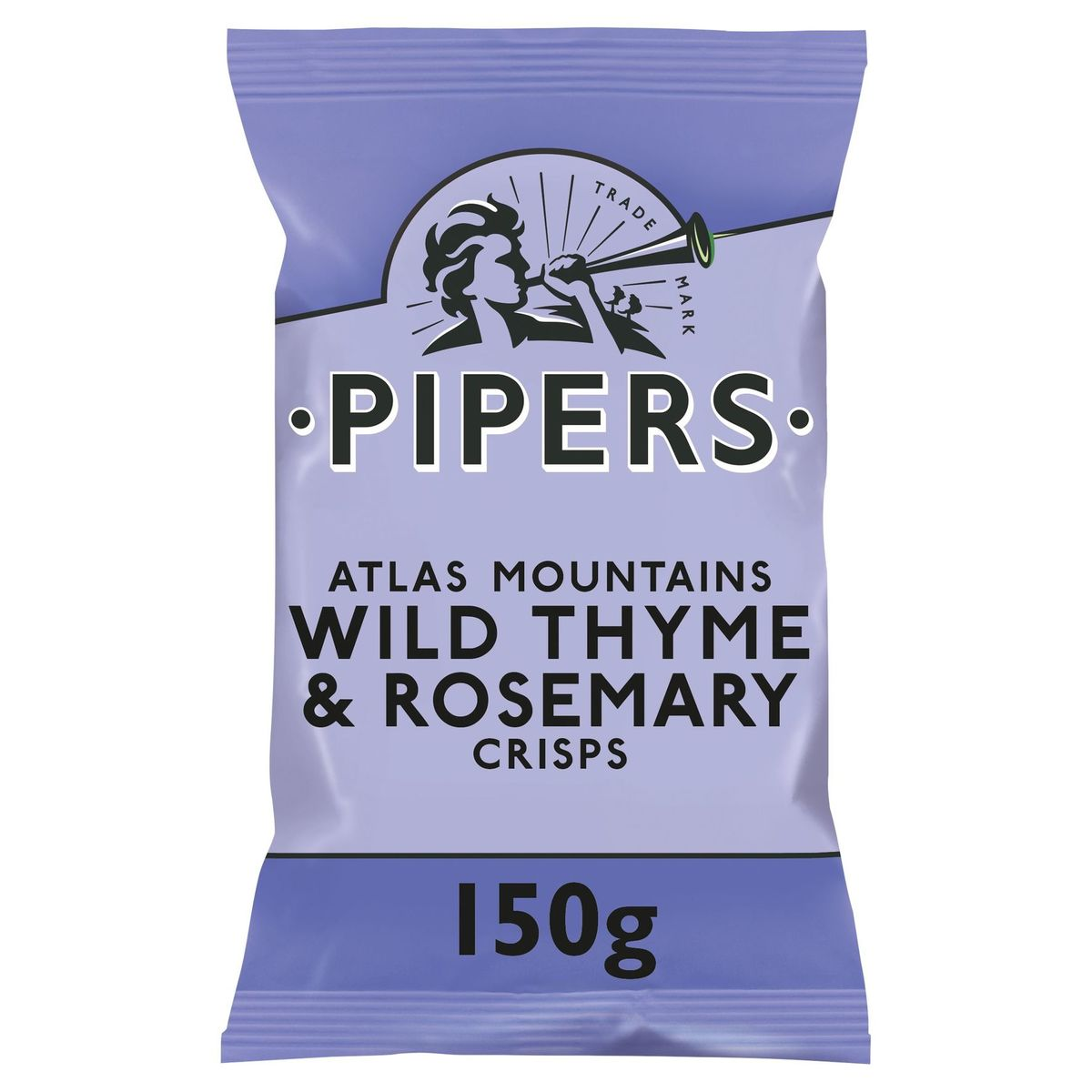 Pipers Chips Wild Thyme & Rosemary 150 gr