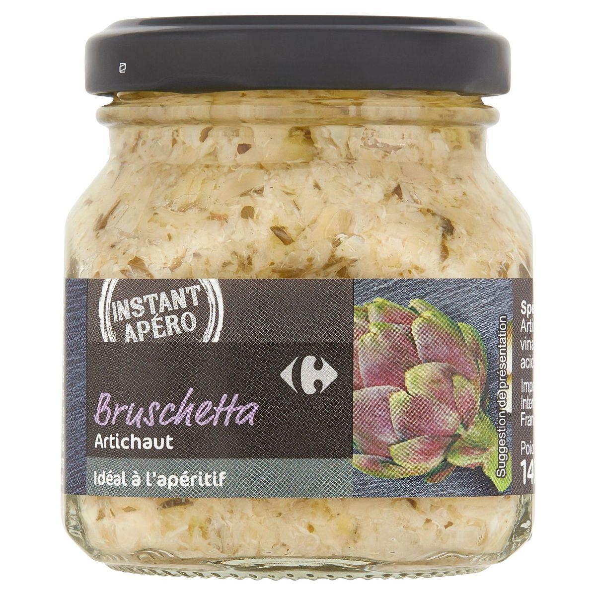 Carrefour Instant Apéro Bruschetta Artichaut 140 g