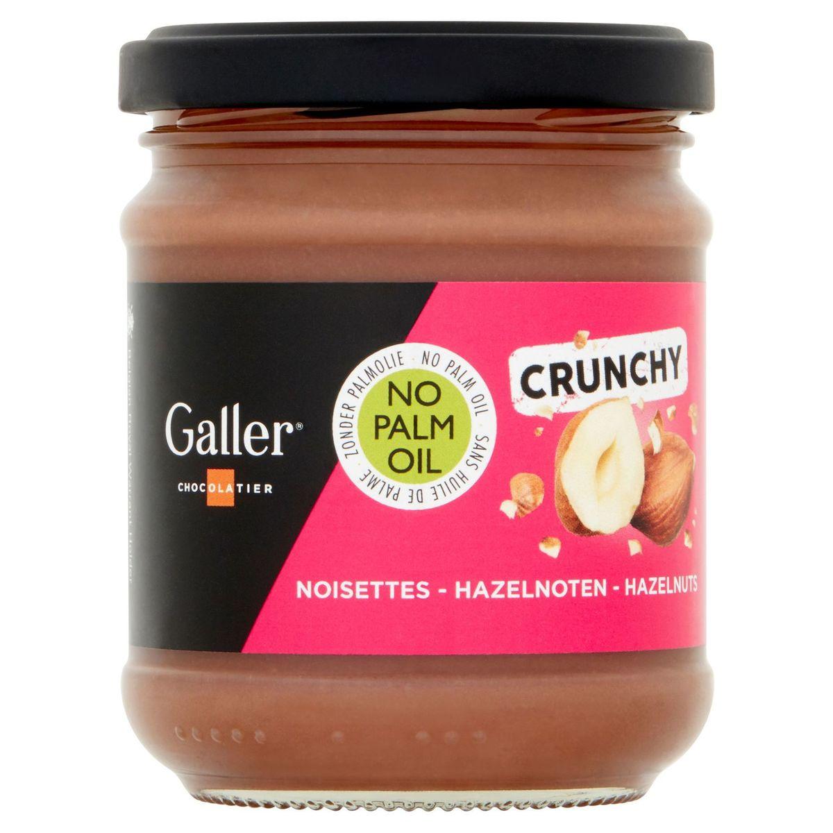 Galler Chocolatier Crunchy Hazelnoten 200 g