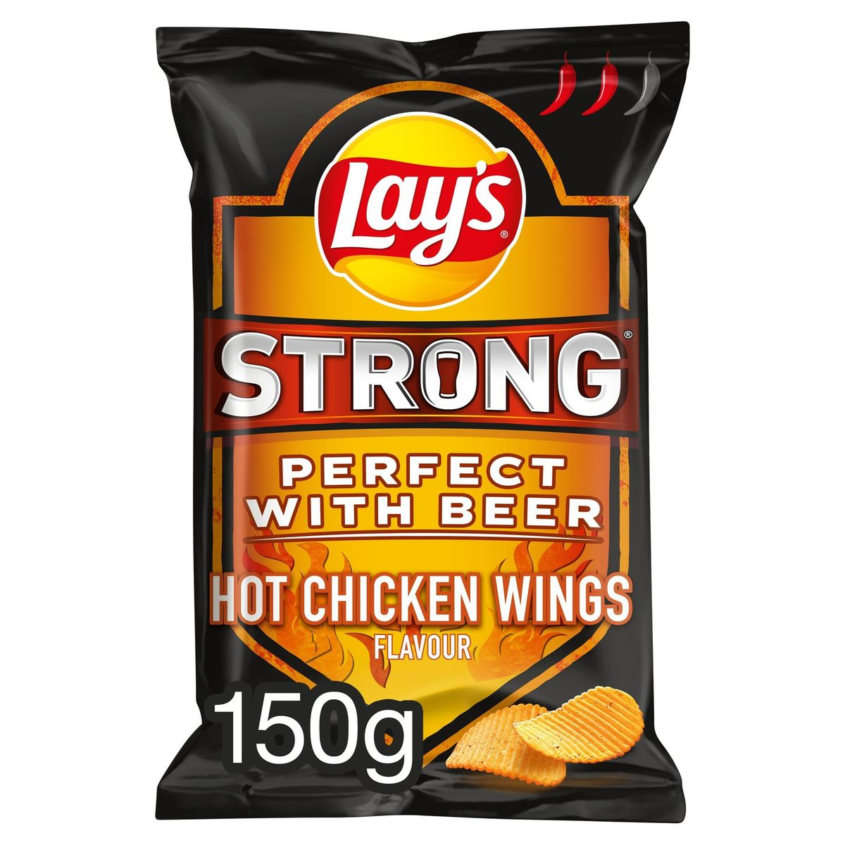 Lay's Strong Hot Chicken Wings Flavour 150 gr