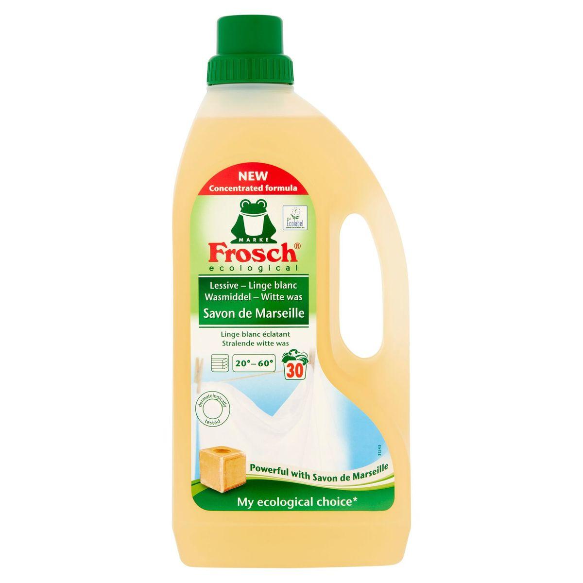 Frosch Ecological Wasmiddel Witte Was 30 Wasbeurten 1.5 L