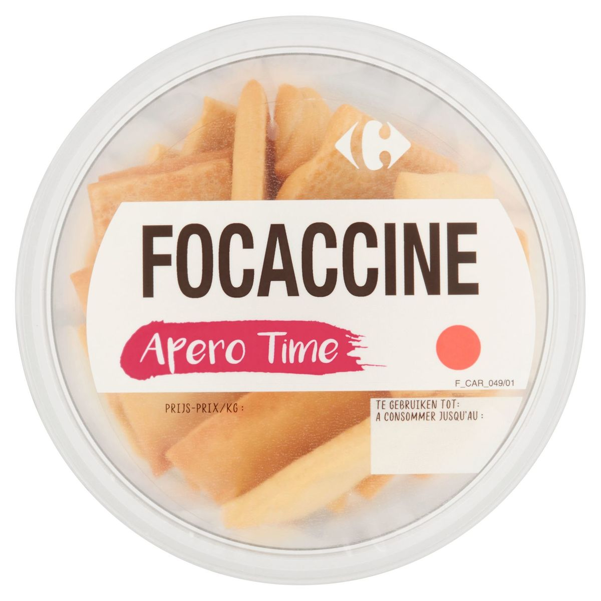 Carrefour Apero Time Focaccine 110 g