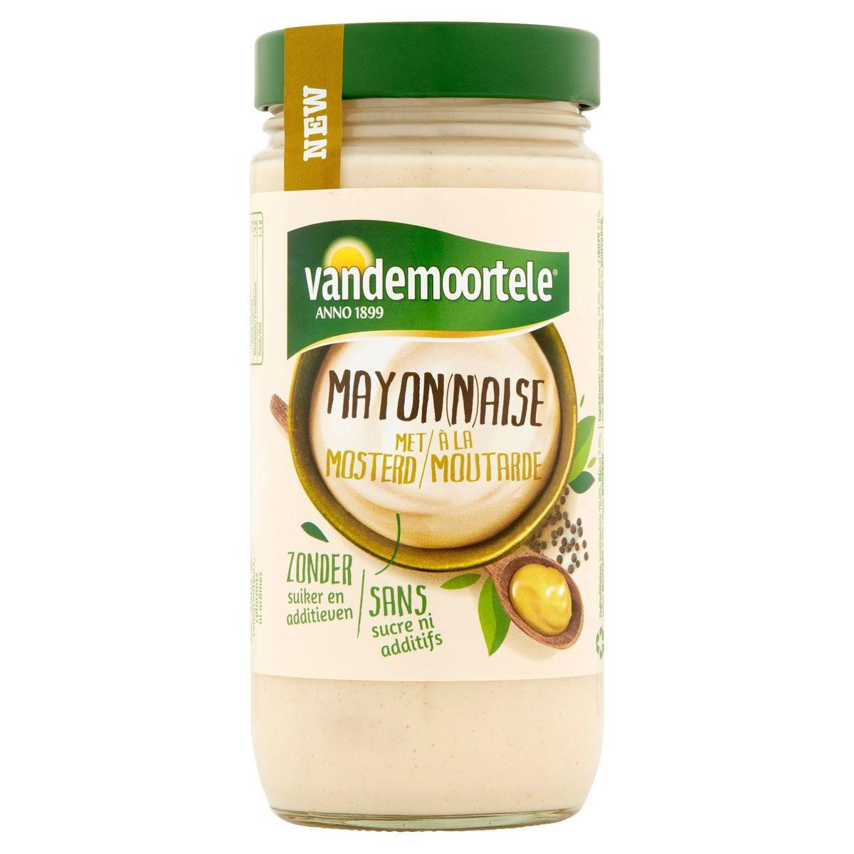 Vandemoortele Mayonaise met Mosterd 377 g