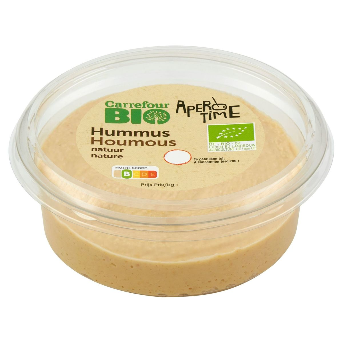 Carrefour Bio Apero Time Houmous Nature 175 g