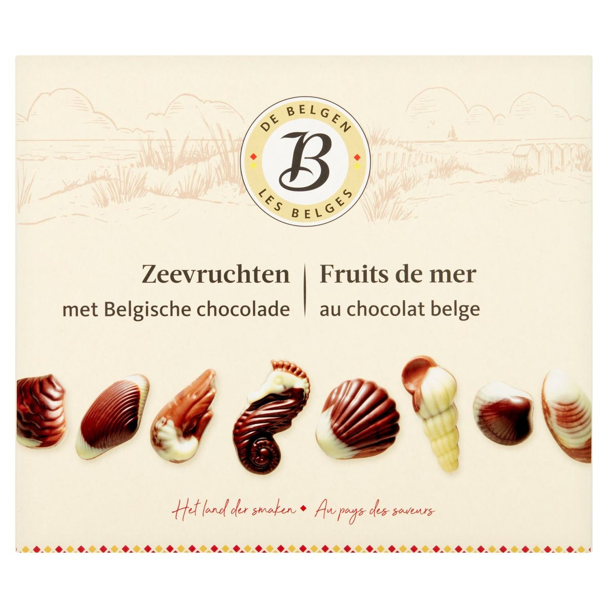 Les Belges Fruits de Mer au Chocolat Belge 250 g