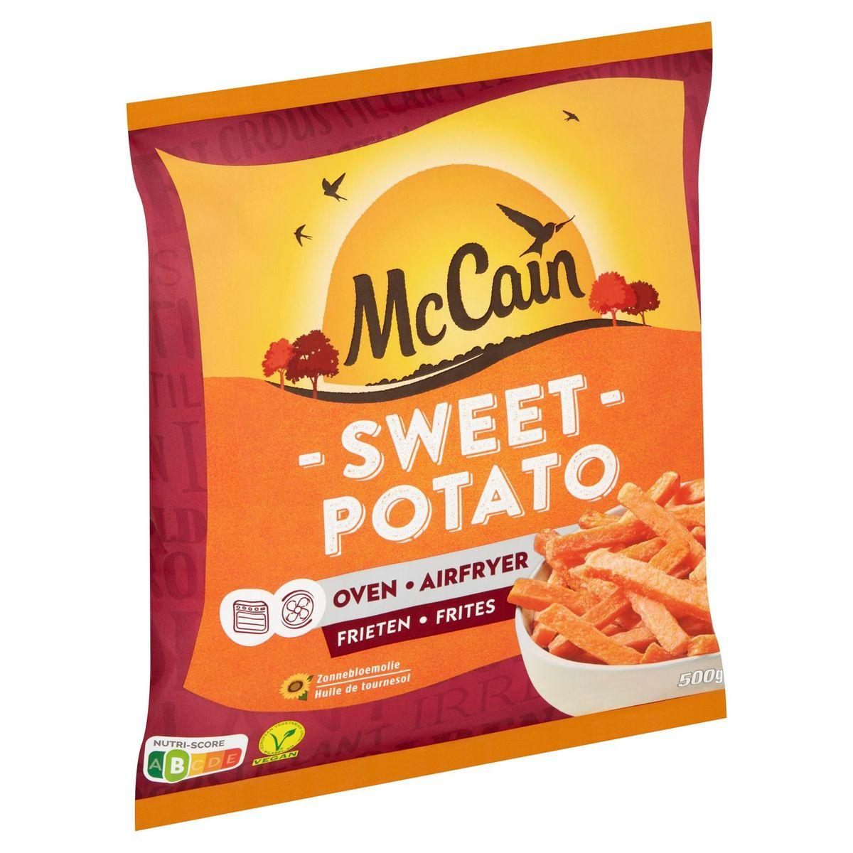 McCain Zoete Aardappel Frieten 500g