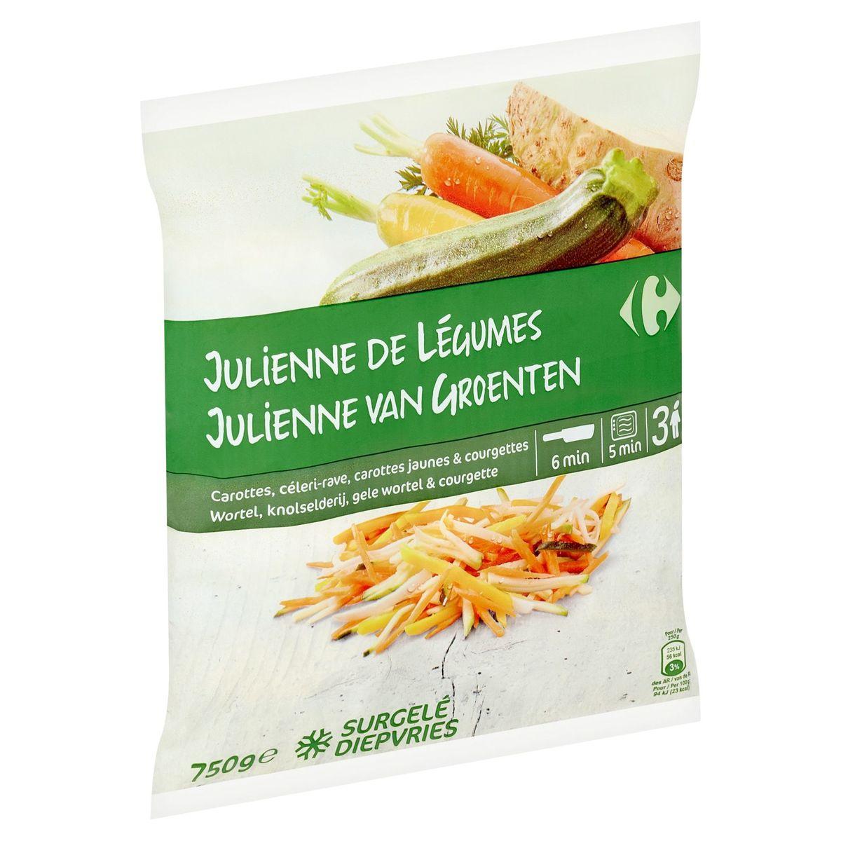 Carrefour Julienne van Groenten 750 g