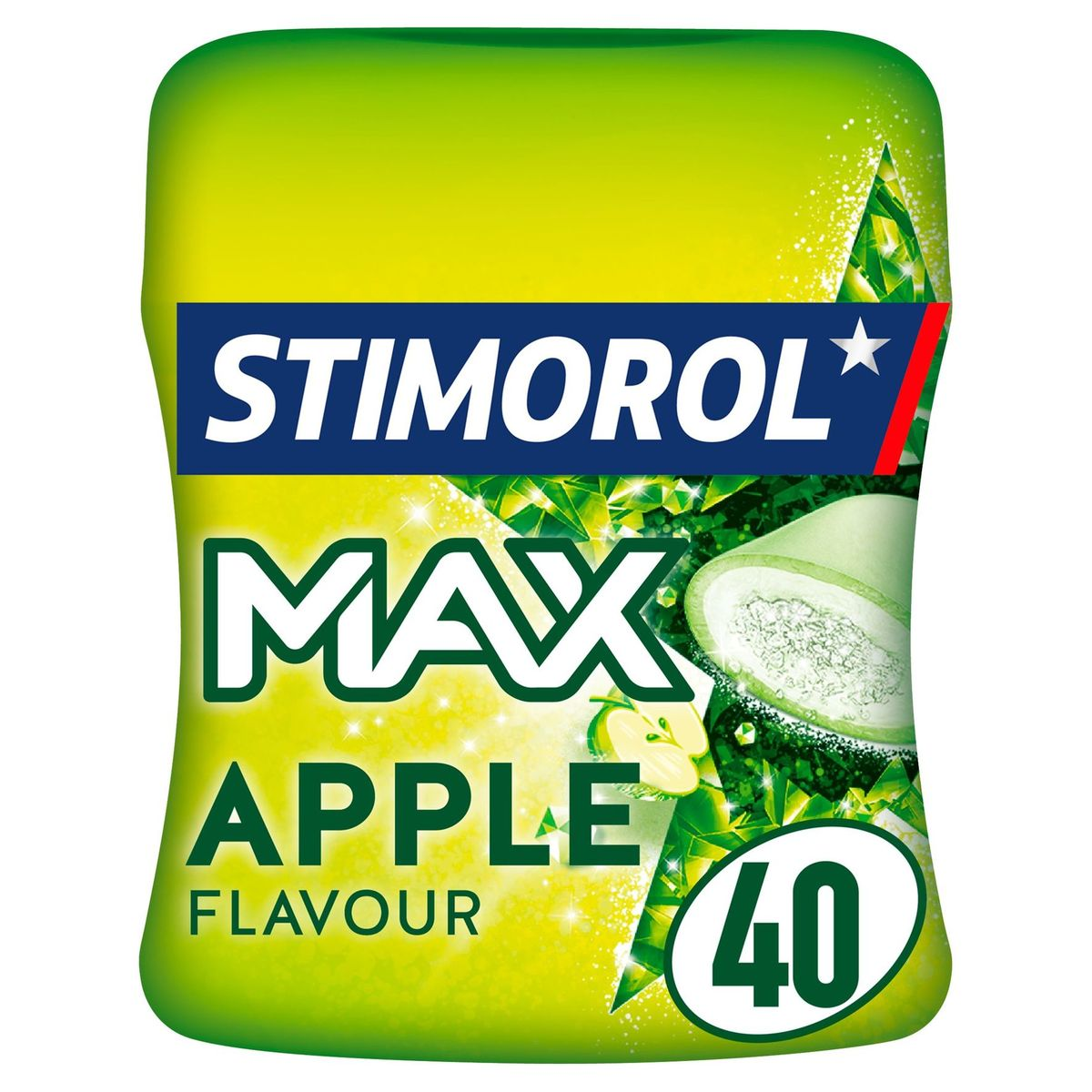 Stimorol Max Frost Apple Flavour Sugar Free 80 g