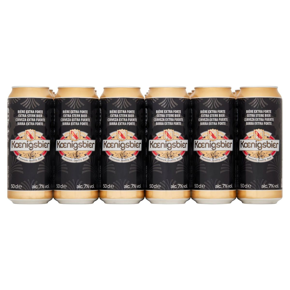 Koenigsbier Extra Sterk Bier Bliken 24 x 50 cl