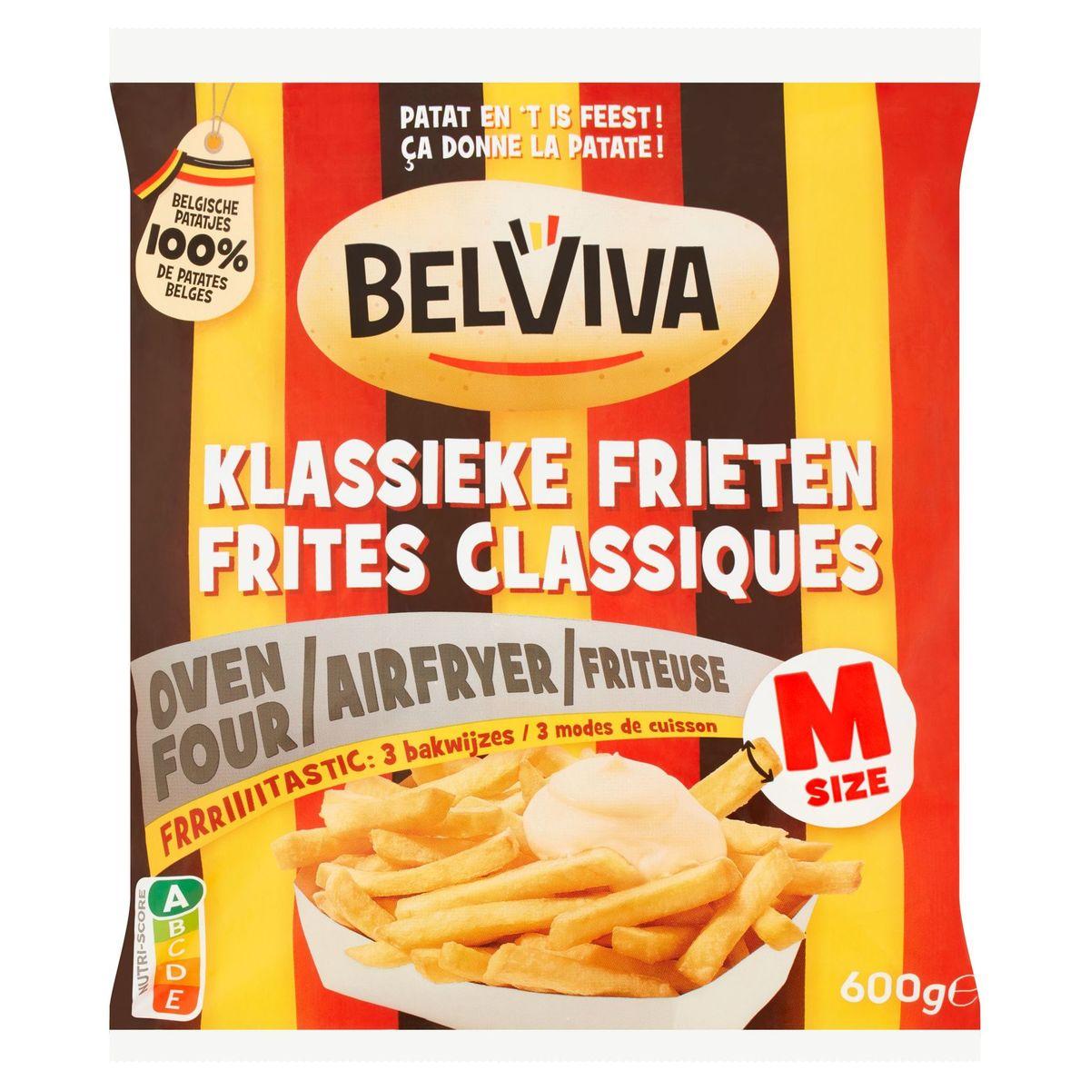 Lutosa wordt Belviva - KIassieke Frieten Oven en Airfryer 600 g