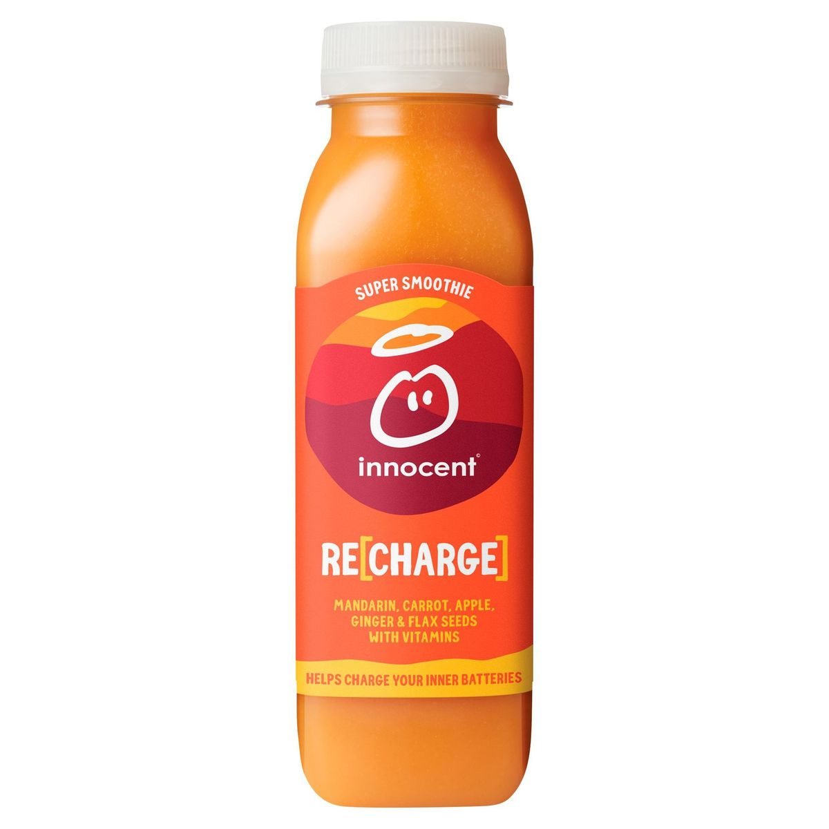 Innocent Recharge Mandarin, Carrot, Apple, Ginger & Flax Seeds 300 ml