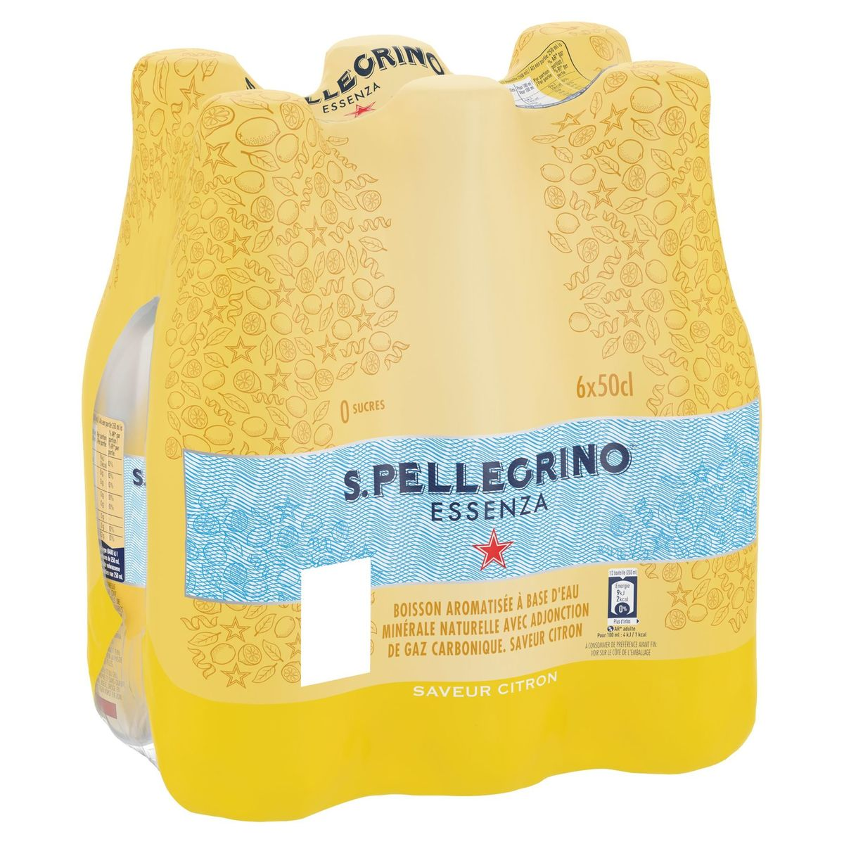 S.PELLEGRINO® Essenza Citroen PET 6 x 50 cl