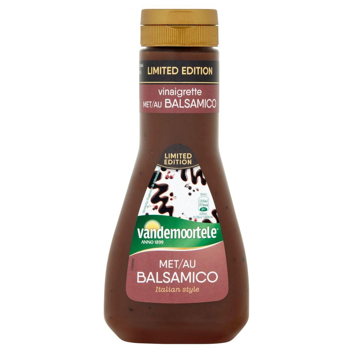 Vandemoortele Vinaigrette met Balsamico Limited Edition 250 ml