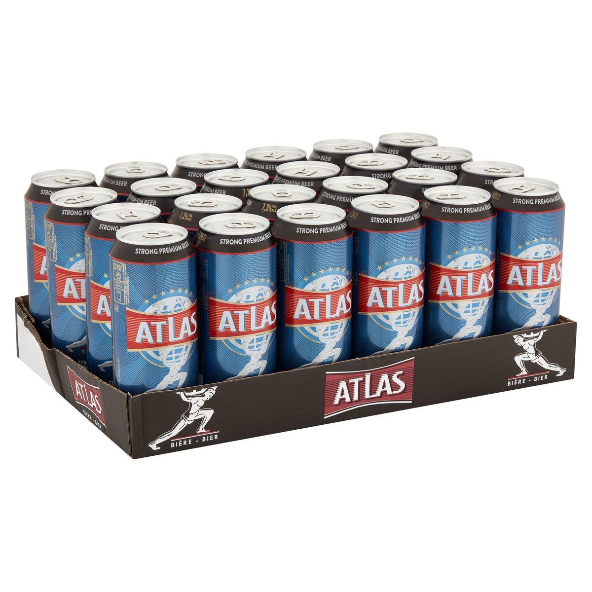 Atlas Strong Premium Beer Blikken 24x50 cl