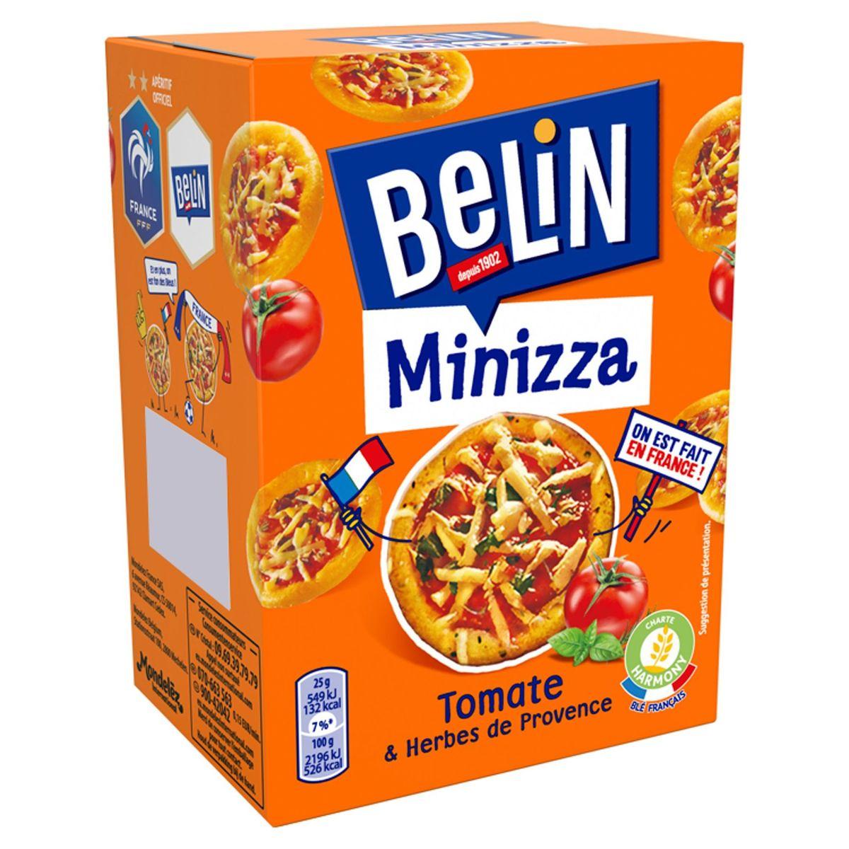 Belin Minizza Tomate & Herbes de Provence 85 g