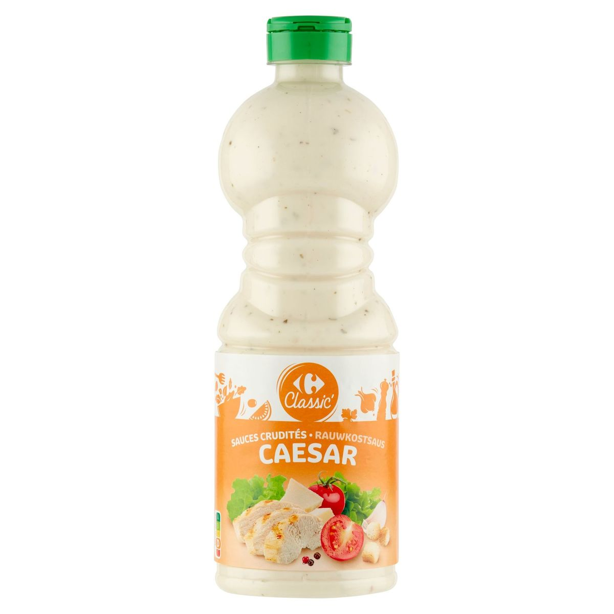 Carrefour Classic' Rauwkostsaus Caesar 50 cl