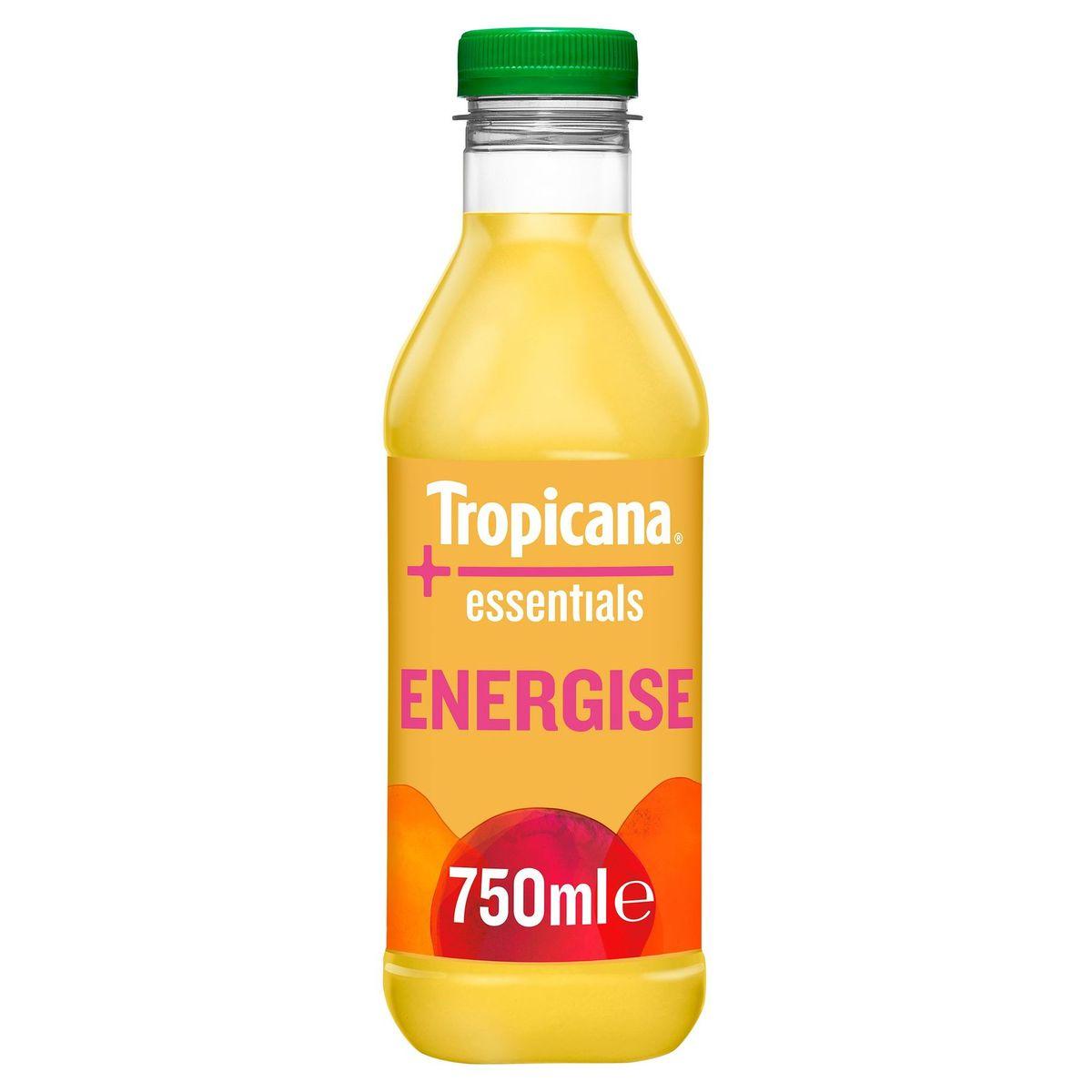 Tropicana Essentials Energise Versfruit Sap 750 ml