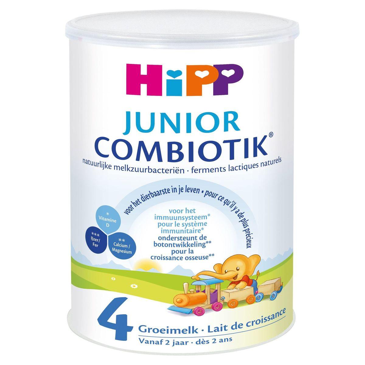HiPP Junior Combiotik 4 Lait de Croissance dès 2 Ans 800 g
