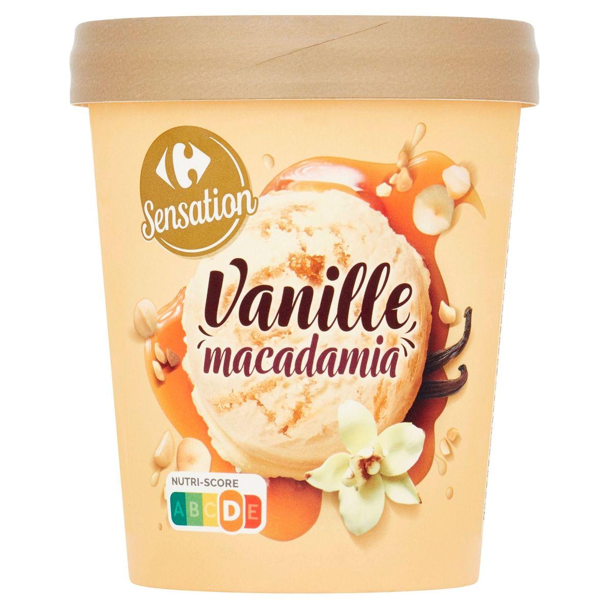 Carrefour Sensation Vanille Macadamia 295 g