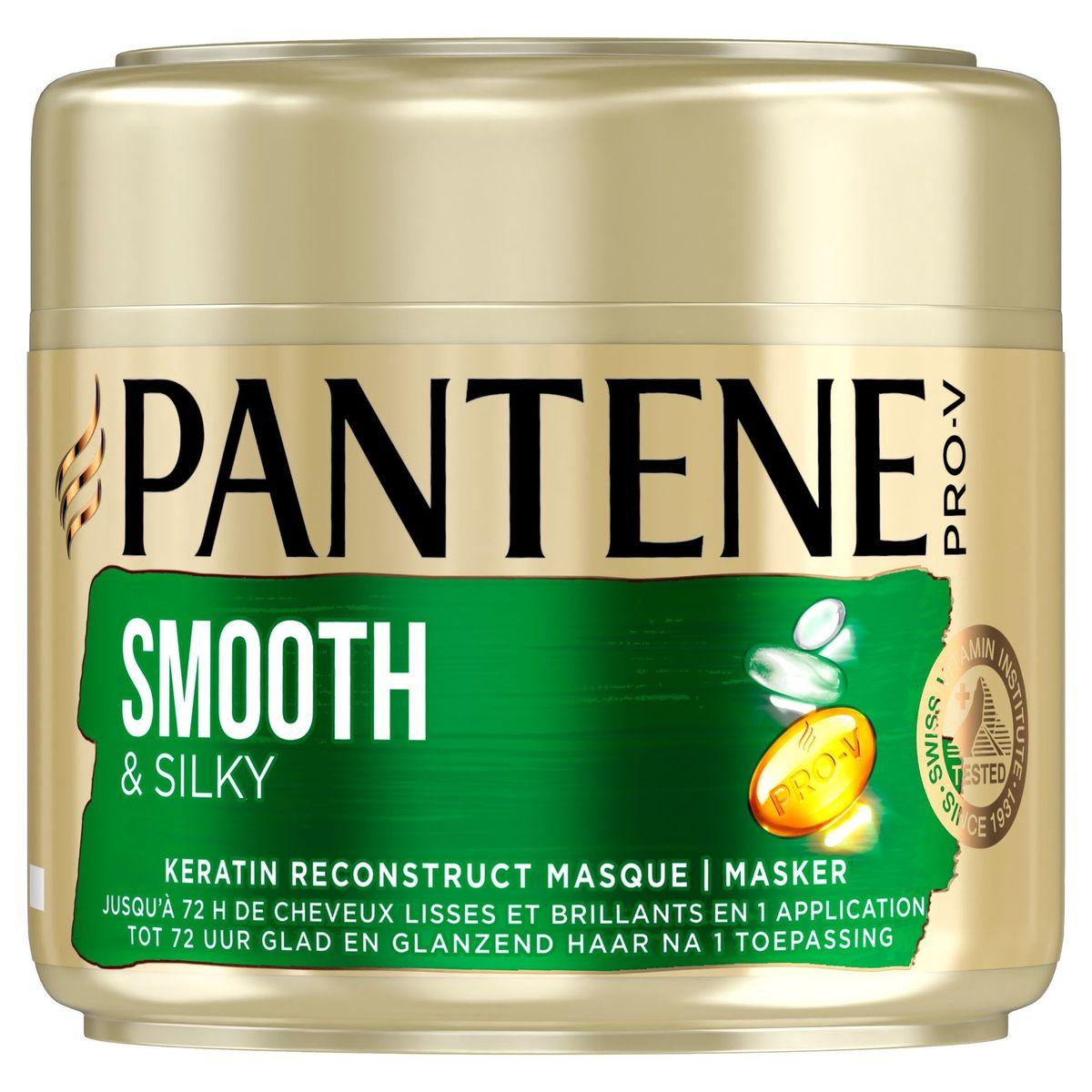 Pantene Pro-V Lisse & Soyeux Masque Cheveux Frisés Et Ternes 300 ml