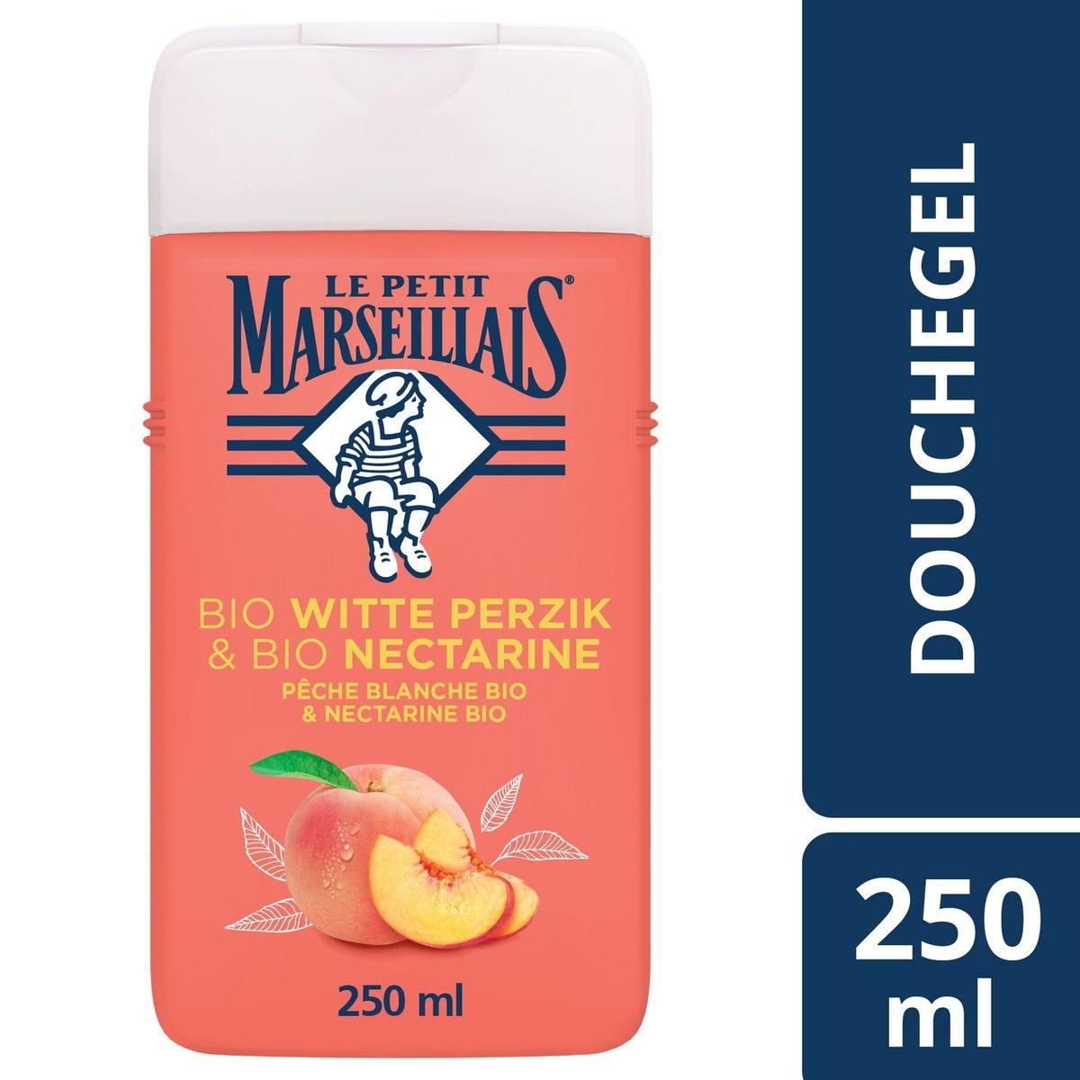 Le Petit Marseillais Gel Douche Extra Doux Pêche Blanche Bio  250 ml