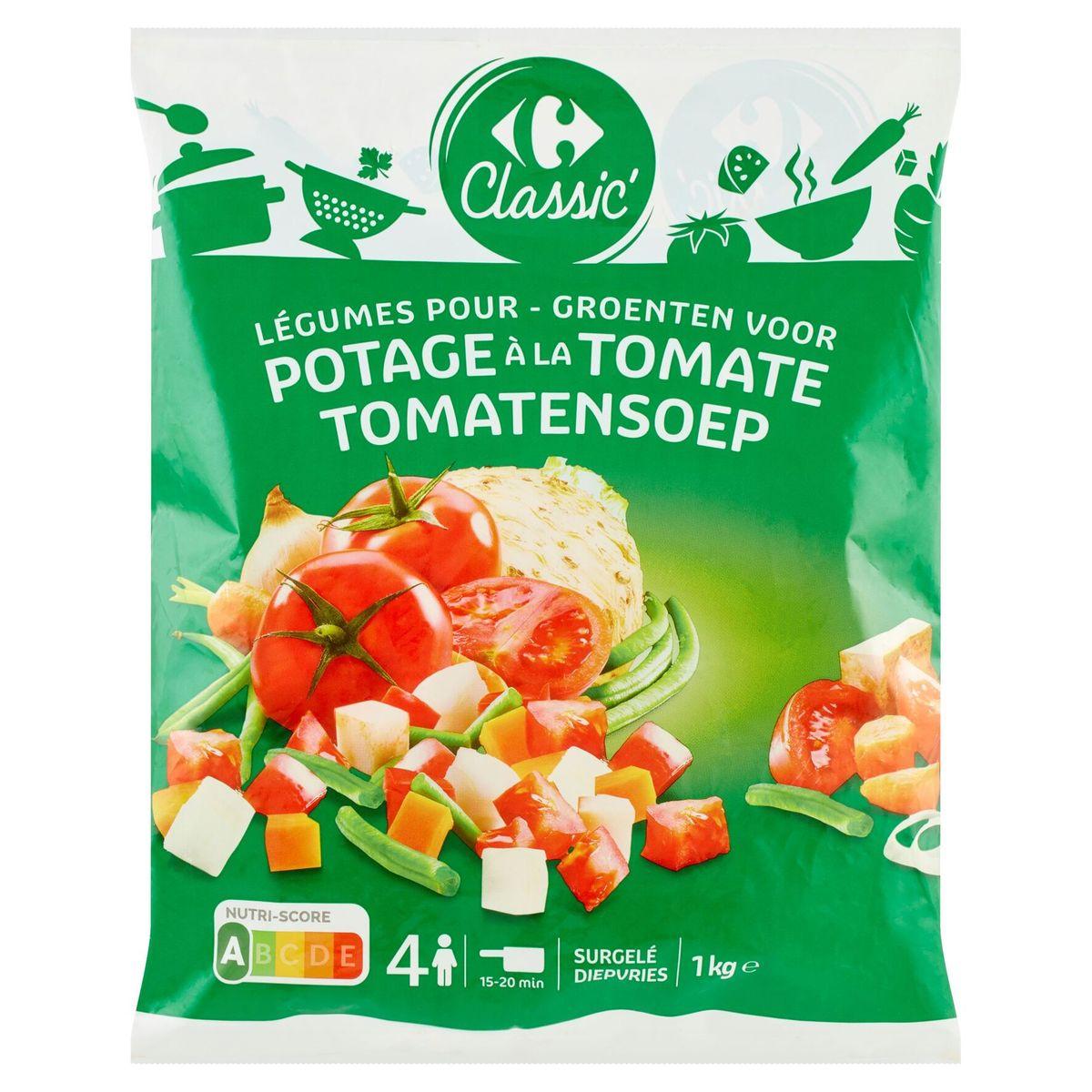 Carrefour Classic' Groenten voor Tomatensoep 1 kg