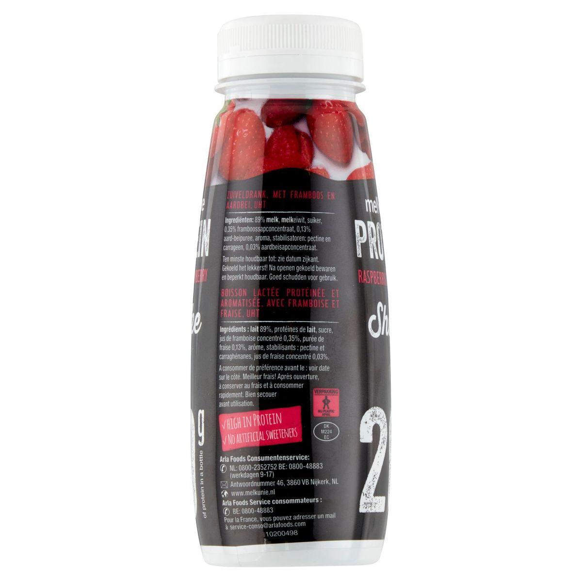 Melkunie Protein Strawberry & Raspberry Shake 225 ml