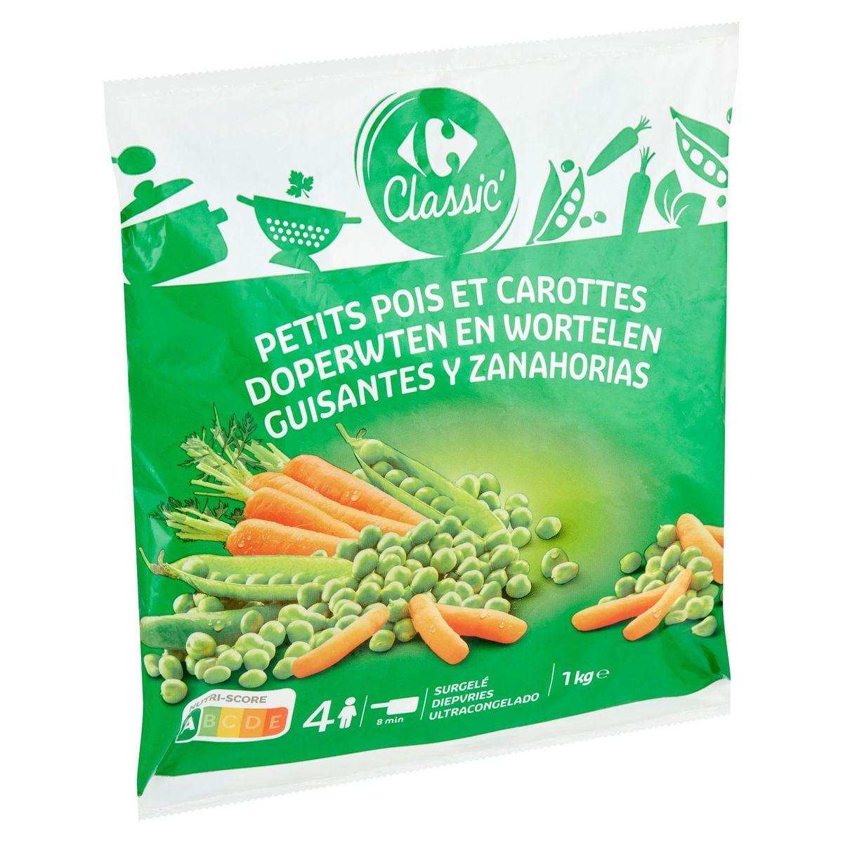 Carrefour Classic' Doperwten en Wortelen 1 kg