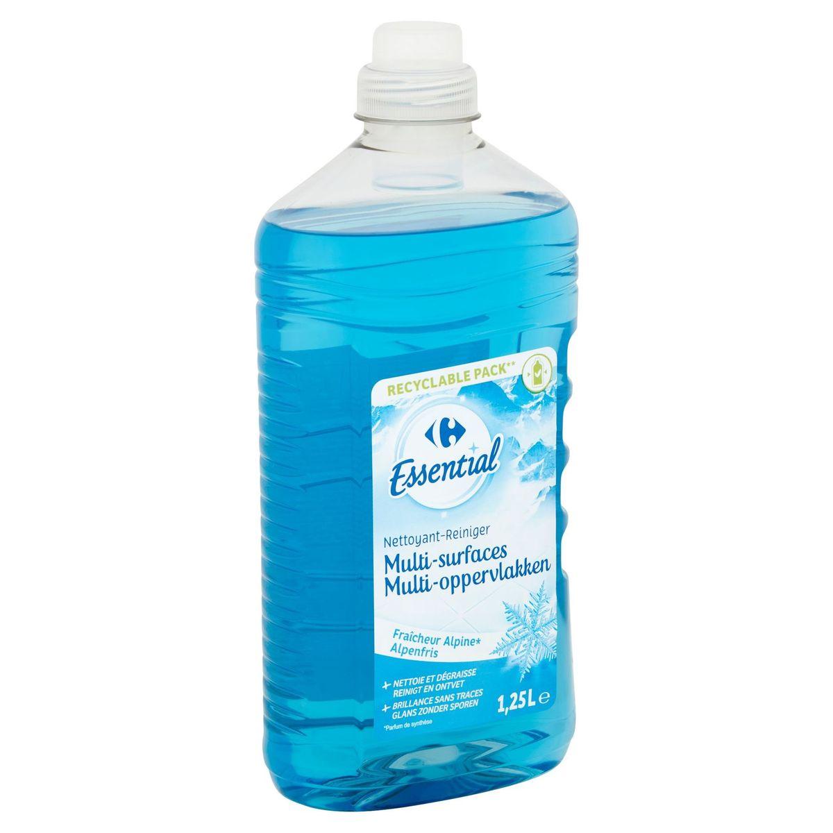 Carrefour Essential Reiniger Multi-Oppervlakken Alpenfris 1.25 L