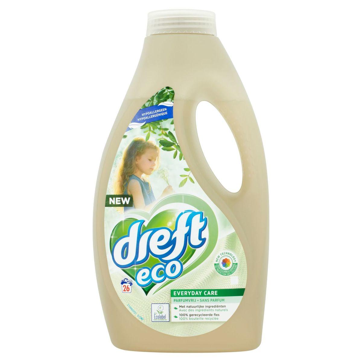 Dreft Eco Everyday Care Sans Parfum 26 Lavages 1.43 L