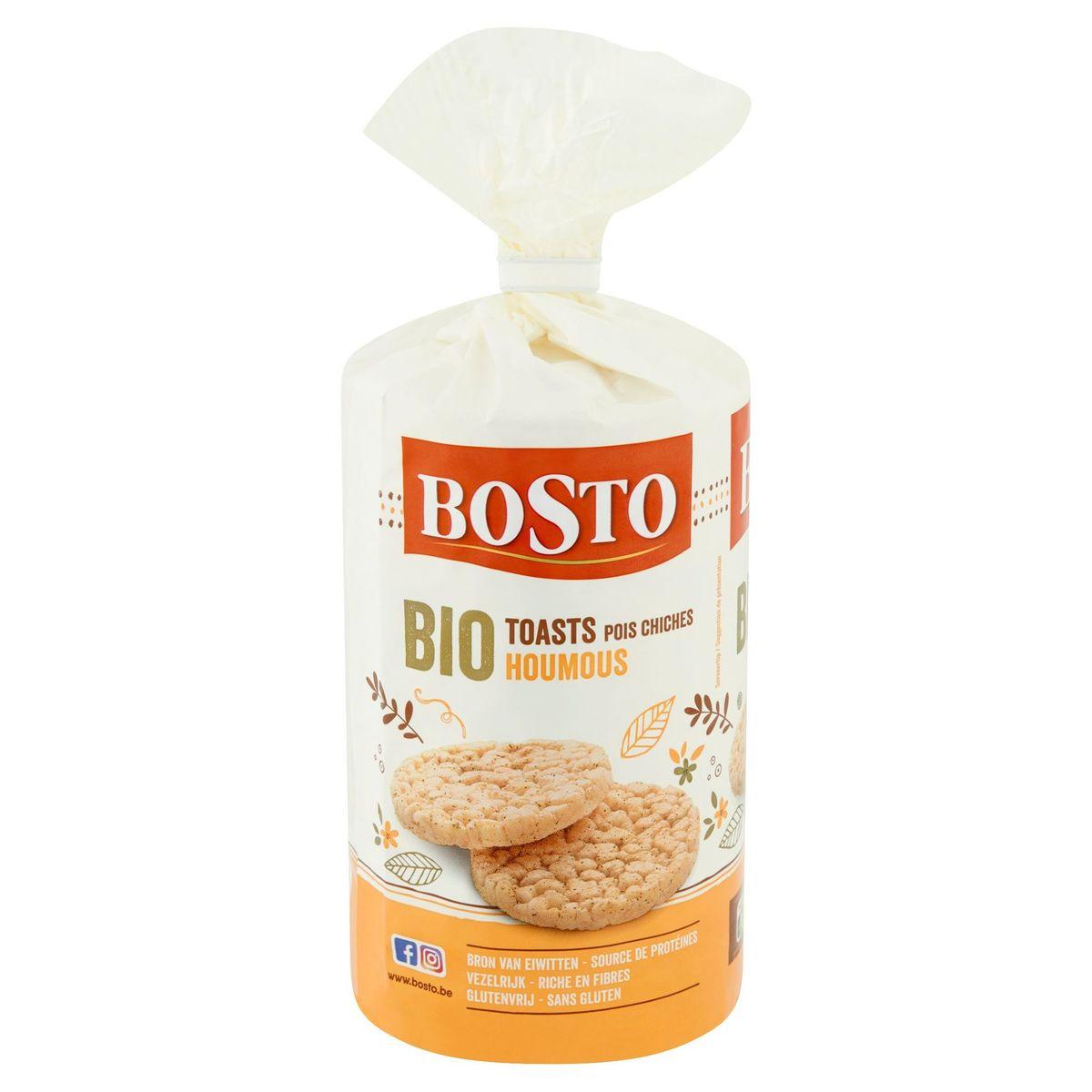 Bosto Bio Toasts Pois Chiches Houmous 122 g